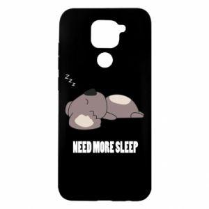 Xiaomi Redmi Note 9 / Redmi 10X case % print% I need more sleep