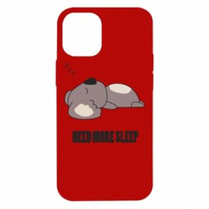 iPhone 12 Mini Case I need more sleep