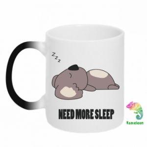 Kubek-kameleon I need more sleep