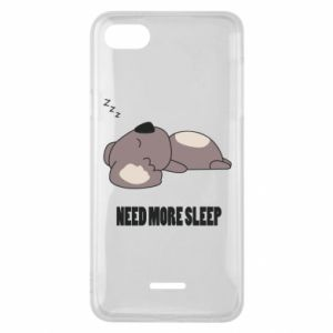 Etui na Xiaomi Redmi 6A I need more sleep
