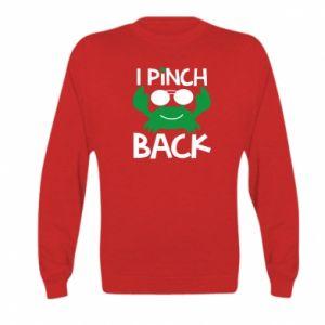 Bluza dziecięca I pinch back