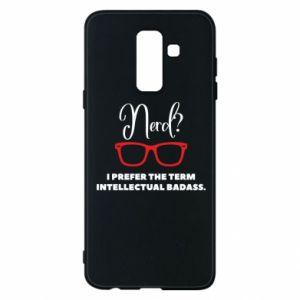 Etui na Samsung A6+ 2018 I prefer the term intellectual badass