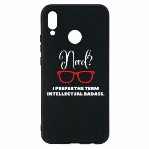 Etui na Huawei P20 Lite I prefer the term intellectual badass