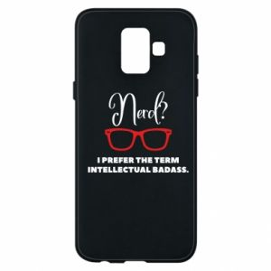 Etui na Samsung A6 2018 I prefer the term intellectual badass