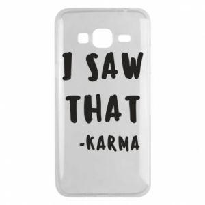 Etui na Samsung J3 2016 I saw that. - Karma