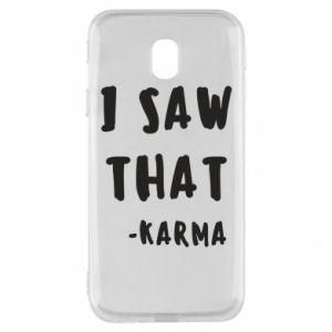 Etui na Samsung J3 2017 I saw that. - Karma