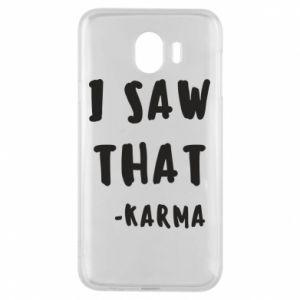 Etui na Samsung J4 I saw that. - Karma