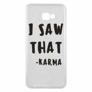 Etui na Samsung J4 Plus 2018 I saw that. - Karma