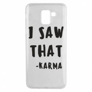 Etui na Samsung J6 I saw that. - Karma