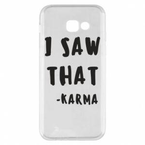 Etui na Samsung A5 2017 I saw that. - Karma