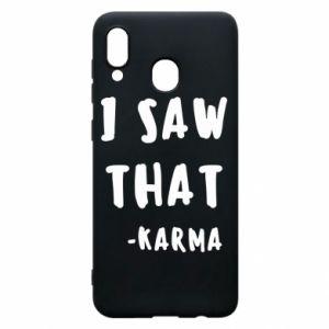 Etui na Samsung A30 I saw that. - Karma
