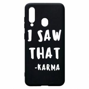 Etui na Samsung A60 I saw that. - Karma