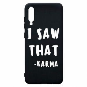 Etui na Samsung A70 I saw that. - Karma