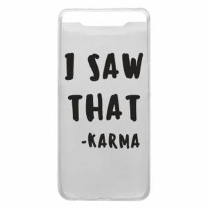 Etui na Samsung A80 I saw that. - Karma