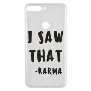 Etui na Huawei Y7 Prime 2018 I saw that. - Karma
