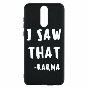 Etui na Huawei Mate 10 Lite I saw that. - Karma