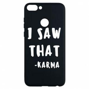 Etui na Huawei P Smart I saw that. - Karma