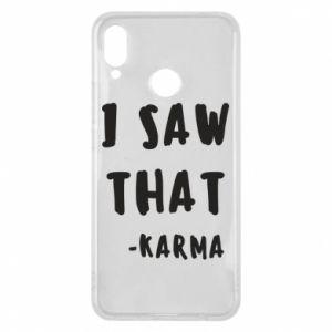 Etui na Huawei P Smart Plus I saw that. - Karma