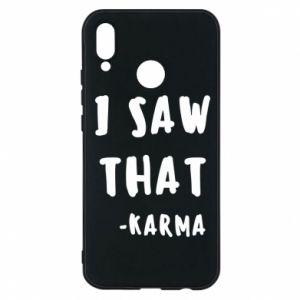 Etui na Huawei P20 Lite I saw that. - Karma