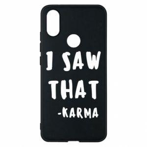 Etui na Xiaomi Mi A2 I saw that. - Karma