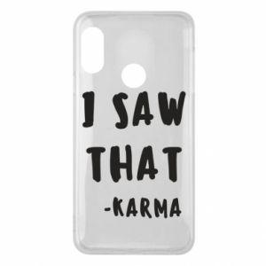 Etui na Mi A2 Lite I saw that. - Karma
