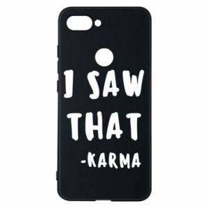 Etui na Xiaomi Mi8 Lite I saw that. - Karma