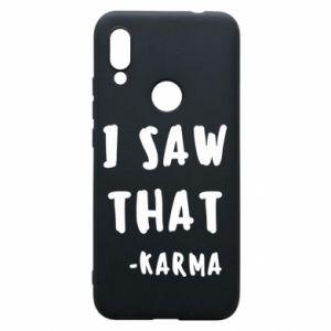 Etui na Xiaomi Redmi 7 I saw that. - Karma