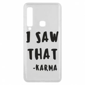 Etui na Samsung A9 2018 I saw that. - Karma