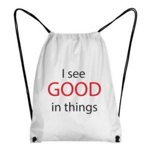 Plecak-worek I see good in things