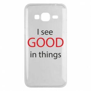 Etui na Samsung J3 2016 I see good in things