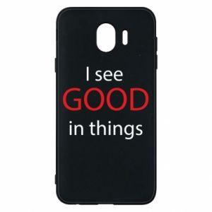Etui na Samsung J4 I see good in things