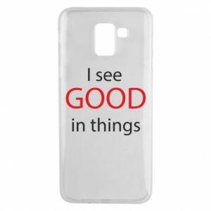 Etui na Samsung J6 I see good in things