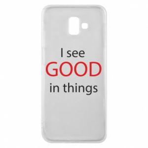 Etui na Samsung J6 Plus 2018 I see good in things