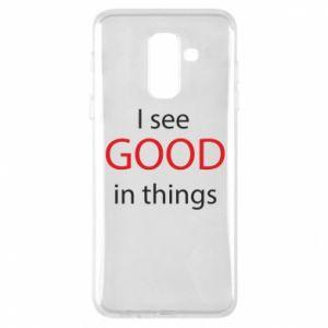 Etui na Samsung A6+ 2018 I see good in things