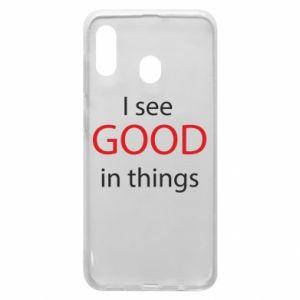 Etui na Samsung A20 I see good in things