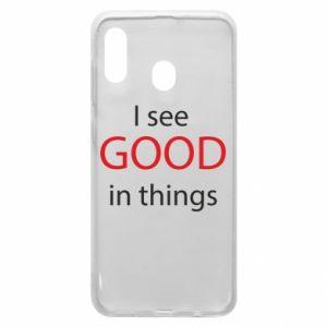 Etui na Samsung A30 I see good in things