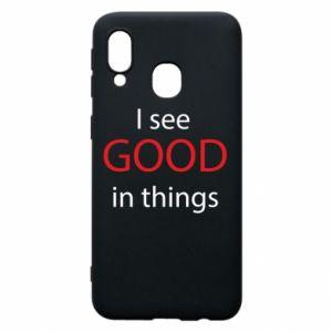Etui na Samsung A40 I see good in things