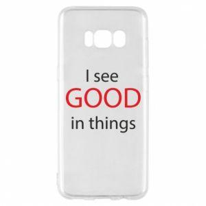 Etui na Samsung S8 I see good in things