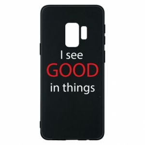 Etui na Samsung S9 I see good in things