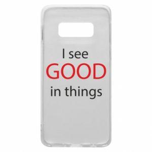 Etui na Samsung S10e I see good in things
