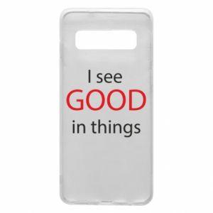 Etui na Samsung S10 I see good in things
