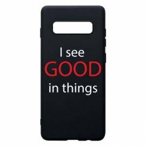 Etui na Samsung S10+ I see good in things