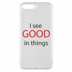 Etui na Huawei Y6 2018 I see good in things