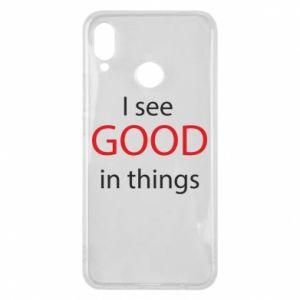Etui na Huawei P Smart Plus I see good in things