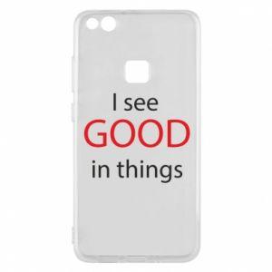 Etui na Huawei P10 Lite I see good in things