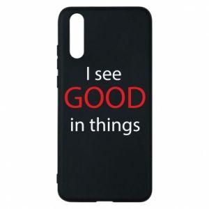 Etui na Huawei P20 I see good in things