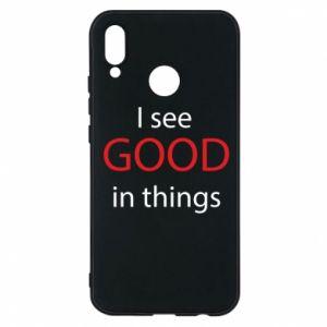 Etui na Huawei P20 Lite I see good in things