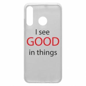 Etui na Huawei P30 Lite I see good in things