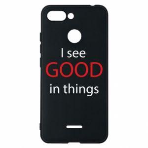 Etui na Xiaomi Redmi 6 I see good in things