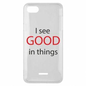 Etui na Xiaomi Redmi 6A I see good in things